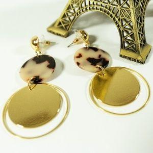 Sale! 2/$20 or 3/$25 Tortoiseshell drop earrings